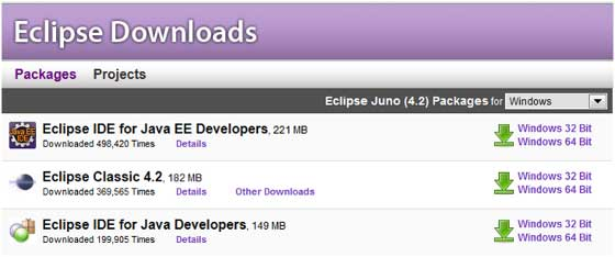 Download and Install Eclipse