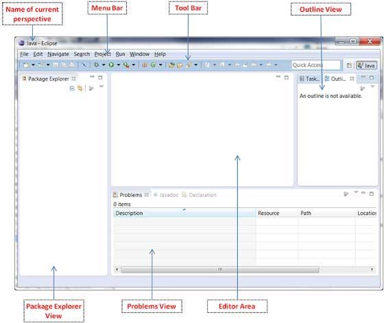 Eclipse - Explore Windows - Tutorialspoint