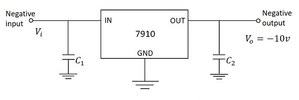 Fixed Negative Voltage Regulator