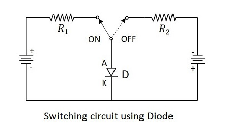 Electronic Circuits - Diode as a Switch