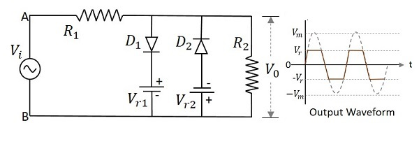 Electronic Circuits Negative Clipper Circuits