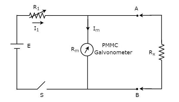 OHMMeters Ohm Meter Schematic on