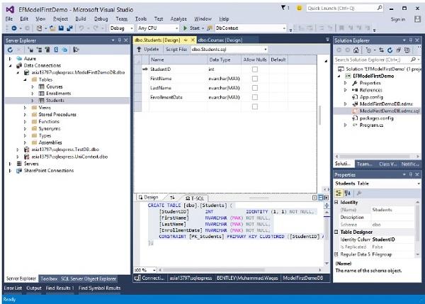 Entity Framework - Quick Guide - Tutorialspoint