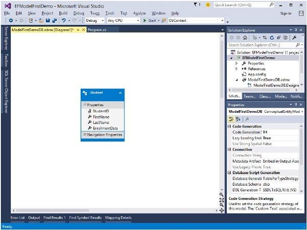 Entity Framework Quick Guide