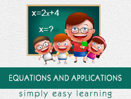 Equations and Applications