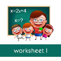 Solving an equation with parentheses: Worksheets ...