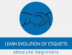 Evolution of Etiquette Tutorial