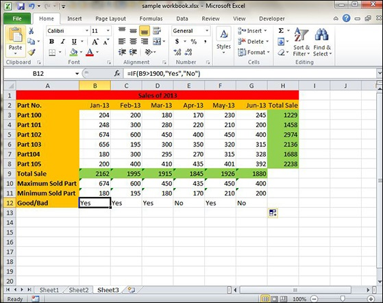 Using functions in excel 2010 use of if function ibookread ePUb
