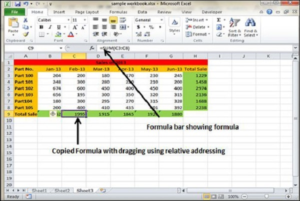 Copy Formula using Cell referencing