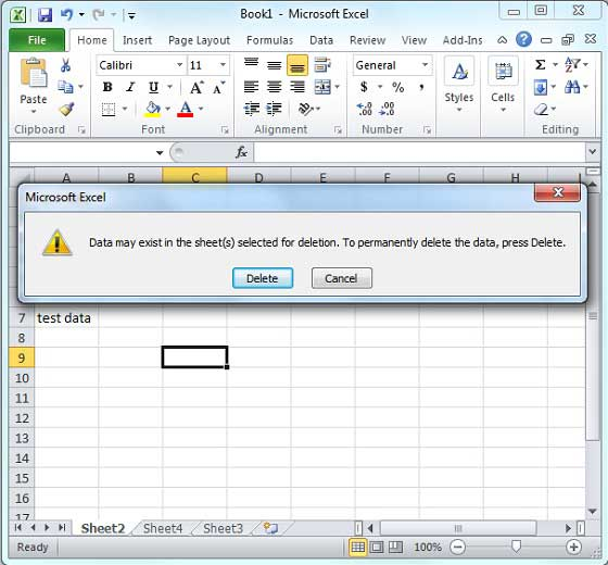 Delete Worksheet in Excel 2010 – What is a Worksheet in Excel