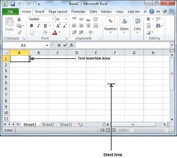 Excel - Quick Guide - Tutorialspoint