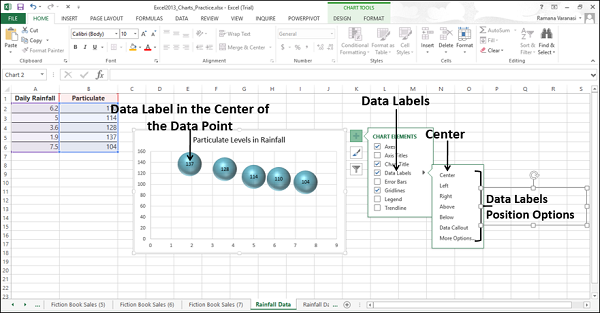 Data Label Positions