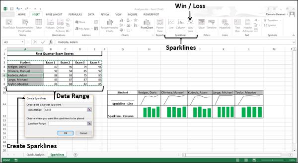 Select Data Range