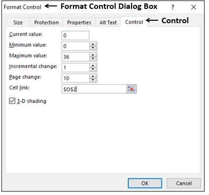 Format Control Dialog