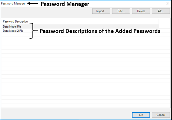 Add Password