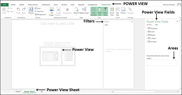 Power View Sheet