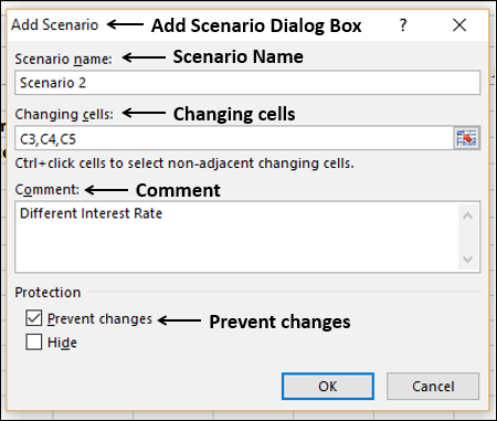 Select Prevent Changes