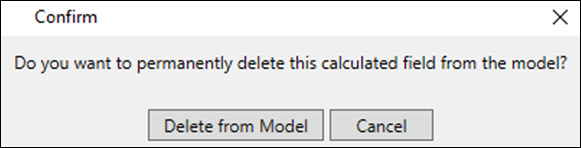 Implicit Calculated Field Delete Confirmation