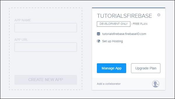 Firebase Environment Setup
