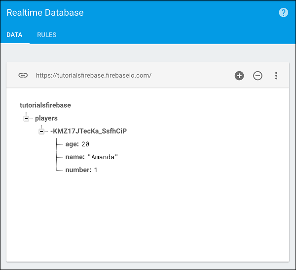 Firebase Write Transactional Data Start