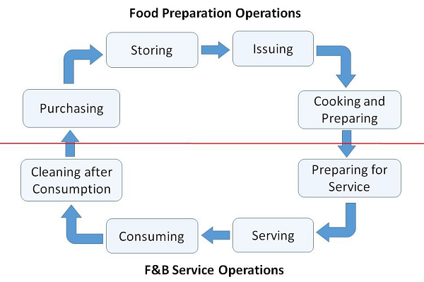 F and B Services Cycle