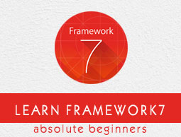 Framework7 Tutorial