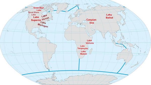 General Knowledge Major Lakes
