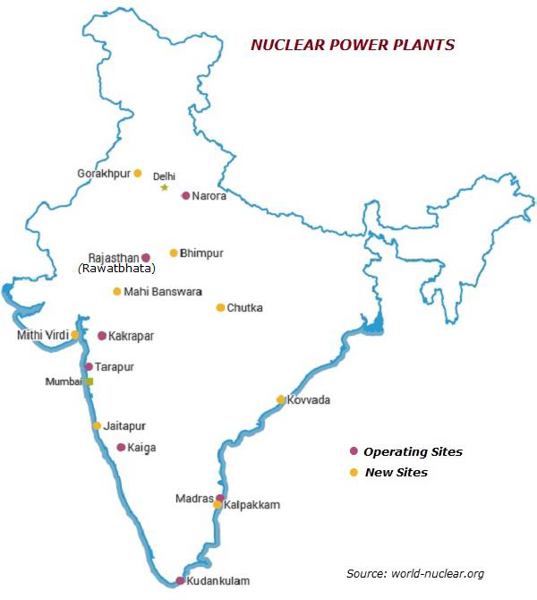 General knowledge nuclear power plants in india gk nuclear power plants in india gumiabroncs Image collections