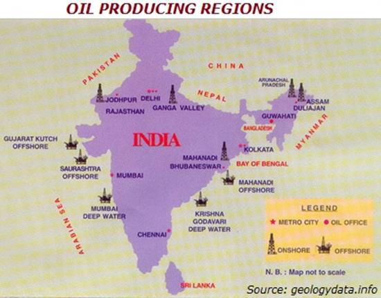 Oil Production Regions