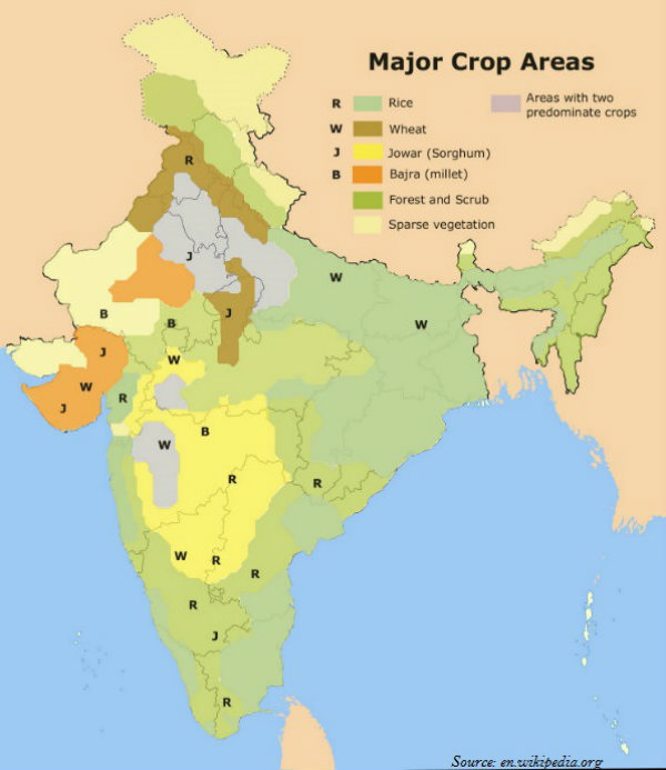 Major Crop area
