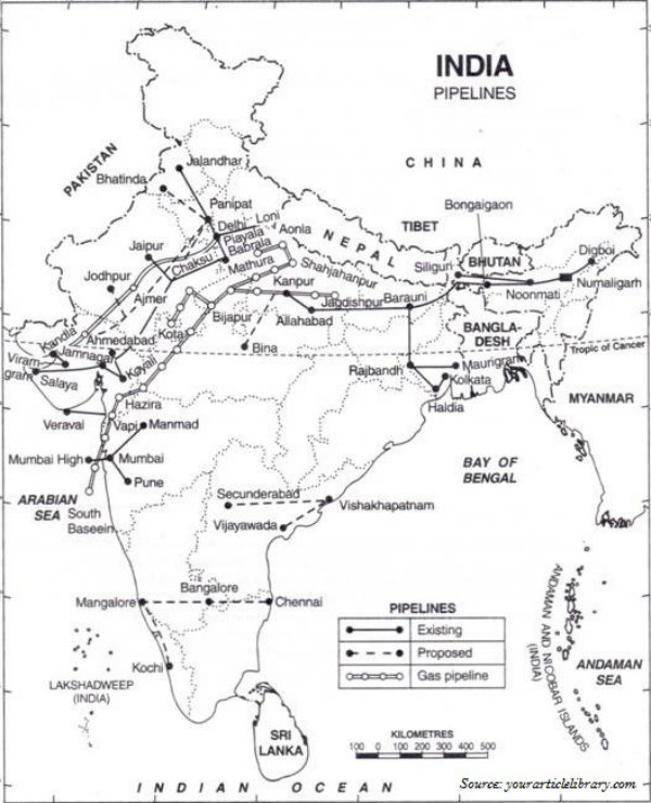 Indian Pipelines
