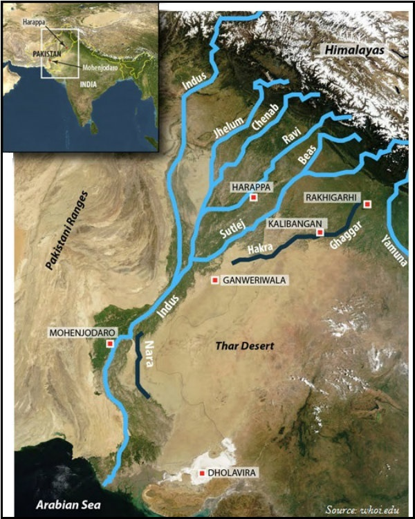 rivers and tributaries of india pdf