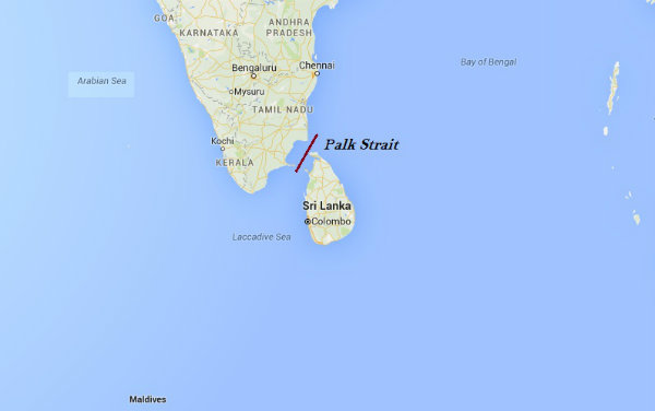 Island Off South Of India