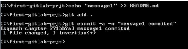 GitLab - Squashing Commits - Tutorialspoint