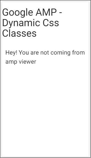 amp dynamic css classes