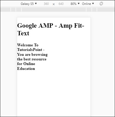 Amp Fit-Text