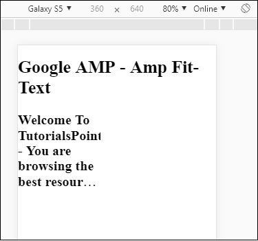 Amp Fit-Text Tag