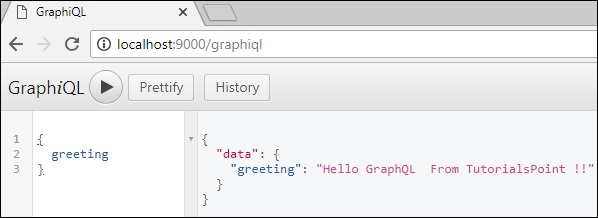 Test GraphQL API