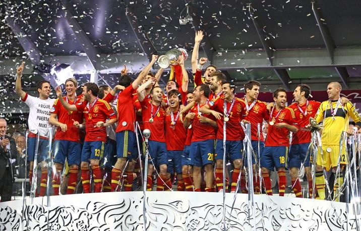 2013 World Champions Spain