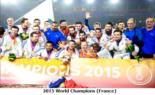 2015 World Champions France