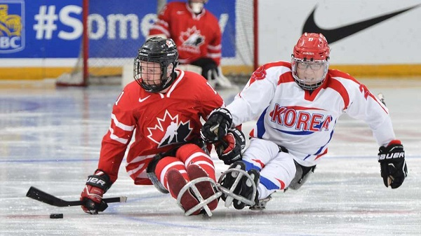 Sledge Hockey