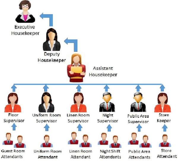 Structure Of Housekeeping Staff