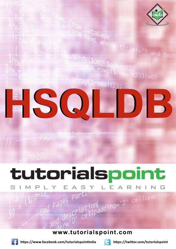 HSQLDB Tutorial
