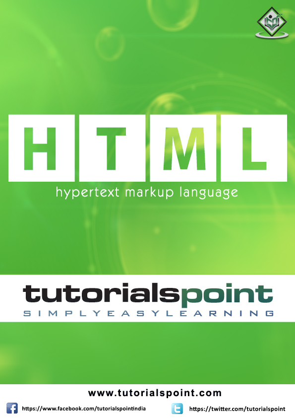 HTML Tutorial in PDF - Tutorialspoint
