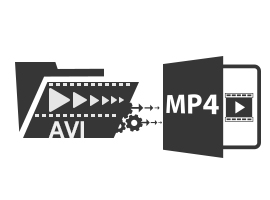 Convert AVI to MP4 Files