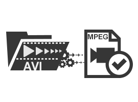 Convert AVI to Mpeg Files