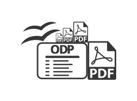 Convert ODP to PDF Files