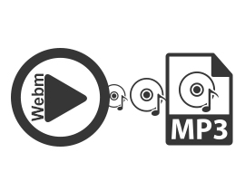 Convert WEBM to MP3 Files