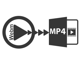 Convert WEBM to MP4 Files