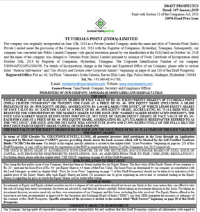TUTORIALS POINT (INDIA) LIMITED